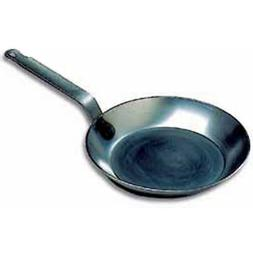 "Matfer Bourgeat 062005 11-7/8"" Black Steel Frying Pan   With"