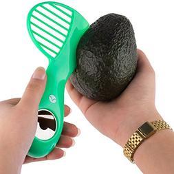 Vremi 3 in 1 Avocado Slicer and Pitter Tool - Avocado Peeler