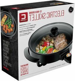 Chefman 3-IN-1 Electric Indoor Grill Pot & Skillet, Versatil