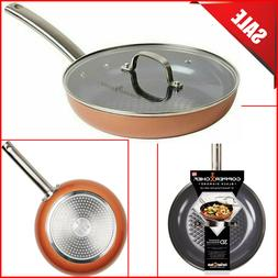 10 inch diamond round frying nonstick pan