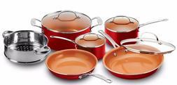 10 piece kitchen nonstick frying pan