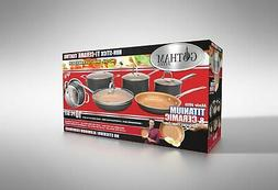 Gotham Steel 10-Piece Kitchen Set Non-Stick Ti-Cerama Coatin