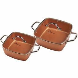 11 deep dish pan set