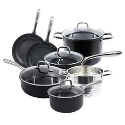 Cookware Set. Best 11 & 14 Piece Pots and Pans Non Stick, St
