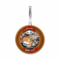 "Gotham Steel 12.5"" Non-Stick XL Copper Frying Pan By Daniel"