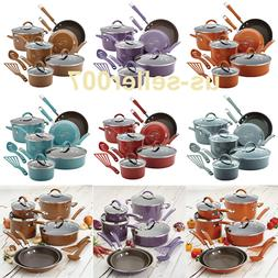 12-Piece Nonstick Cookware Set Kitchen Frying Pans And Pots
