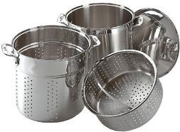 All-Clad 12 Quart Multi Cooker With Steamer Basket