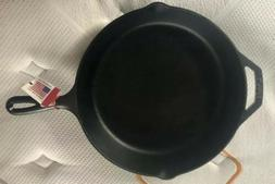 "12"" Cast Iron Skillets Vintage Pan Seasoned Lodge Kitchen Fr"