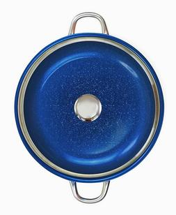 "Granite Stone 14"" Non-Stick Frying Pan With Glass Lid Induct"