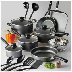18-PIECE COOKWARE SET Pots Pans Non Stick Cooking Aluminum P