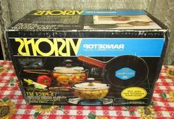 1990 nib corning visions range top cookware