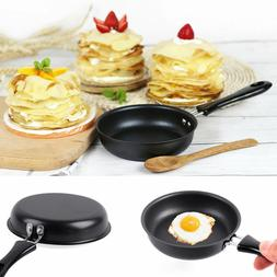 1Pcs 2cm Mini Black Non-Stick Egg Pancake Omelets Fry Frying