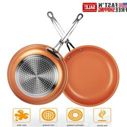 24 Inch New Induction Copper Coated NON STICK Round Ceramic