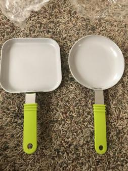 Cook N Home 5.5 Inch Non Stick Ceramic Mini Fry and Griddle