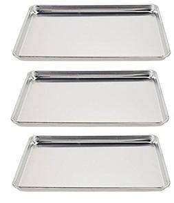 Vollrath 5303 Wear-Ever Half-Size Sheet Pans, Set of 3