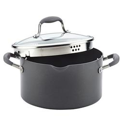 Anolon Advanced Hard-Anodized Nonstick Covered Stockpot with