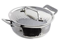 Bon Chef 60027HF Stainless Steel Induction Bottom Cucina Rou