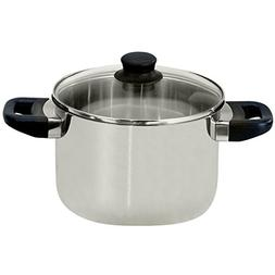 ELO 68224 Juwel De Luxe Stainless Steel 6-Quart Stock Pot wi