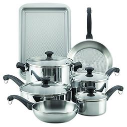 Farberware Classic Traditions Stainless Steel Cookware Set,