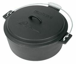 Bayou Classic 7410 Cast Iron Chicken Fryer with Dutch Oven L