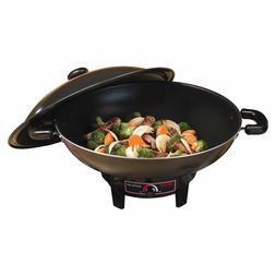 7Quart Electric Wok Pan Cooking Asian Chinese Food Frying St