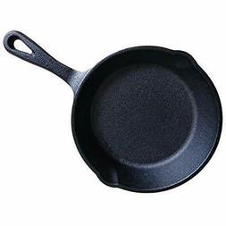 "8"" Cast Iron Skillet Pan For Frying Cooking Baking Multi Fun"