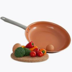 8 Inch Healthy Chef's Copper Frying Pan With Nonstick Coatin