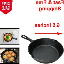 6 Inch Nonstick Pan Cast Iron Skillet Frying Oven Cooking Pr