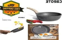 Carote 8 to 12 Inch Non-stick Frying Pan Skillet,Stone Cookw