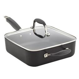 Anolon 83862 Advanced Sauteuse/Saute Pan, 4 Quart, Graphite