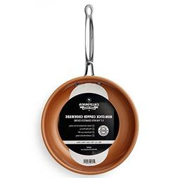 """9.5"""" Non-Stick Ceramic Frying Pan, Oven Safe Copper Frying"""