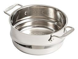 All-Clad 4703-ST-2 Stainless Steel Dishwasher Safe 3-Quart U