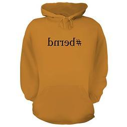 BH Cool Designs #Bernd - Graphic Hoodie Sweatshirt, Gold, X-