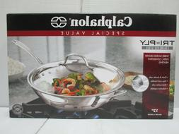 "Calaphalon 12"" Stir Fry and Cover"