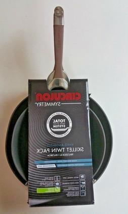 Circulon Symmetry Hard-Anodized Nonstick French Skillet Twin