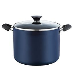 Cook N Home 10.5 Quart Nonstick Stockpot with Lid, Blue