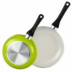 Cook N Home 8 and 9.5-Inch Nonstick Ceramic Coating Saute Fr