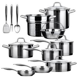 Duxtop SSIB-17 Professional 17 piece Stainless Steel Inducti