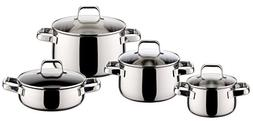 ELO Shape Stainless Steel Kitchen Induction Cookware Pots an