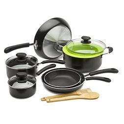 Ecolution Nonstick Cookware Set, 12 Piece -  Heavy Weight, I