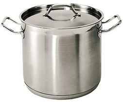 New Professional 32 Qt. 18/8 Stainless Steel Stock Pot, Indu