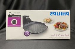 Philips - Avance Collection XL Airfryer Grill Pan Accessory