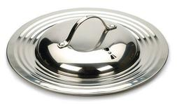 RSVP Endurance Stainless Steel Universal Lid with Adjustable