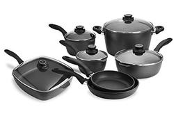 Swiss Diamond 10-piece Nonstick Cookware Set with Bonus Saut
