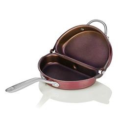 TECHEF Specialty Cookware Frittata Omelette Pan, Standard, P