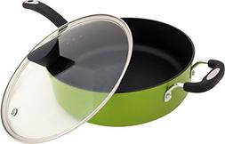 The Green Earth All-In-One Sauce Pan by Ozeri, with Ceramic