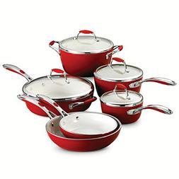 Tramontina 80110/202DS Gourmet Ceramica Deluxe Cookware Set,