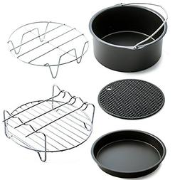 Air frypot accessories - air frying pan kits 5, including ca