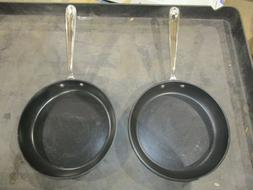 ALL-CLAD 10 inch Hard Anodized Steel Frying Fry Pan Non-Stic