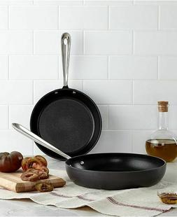"ALL-CLAD Ns1 Nonstick Induction Ready Hard Anodized 8"" & 10"""